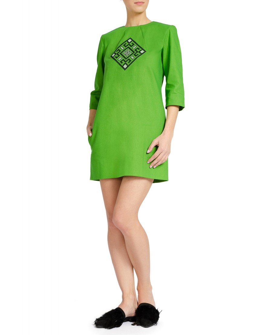Aries Green Dress